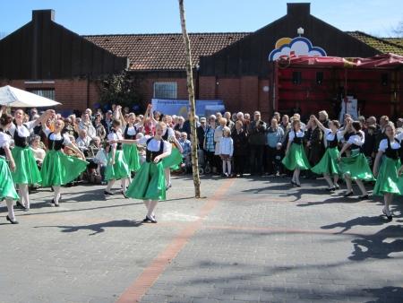 Dancing around the maypole Stock Photo - 20132905