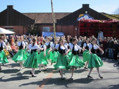 Dancing around the maypole Stock Photo - 20132921
