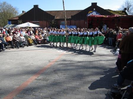 Dancing around the maypole Stock Photo - 20132887