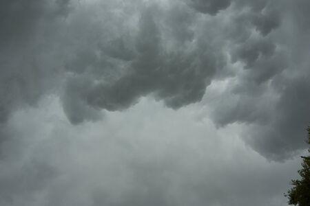 kiel: Storm clouds over Kiel