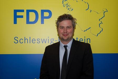 kiel: Sebastian Blumethal, Member of the Bundestag, and Member of the FDP district board Kiel  Editorial
