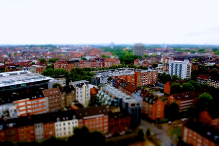 tilt: Pictures made with tilt shift during the Kieler Woche from the Town Hall Tower