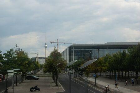 chancellerie: L'int�rieur de la Chancellerie f�d�rale, Accueil de la chanceli�re et le personnel de la Chancellerie