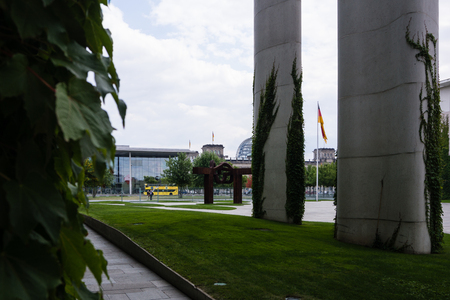 chancellor: Federal Chancellery, Home of the Chancellor and the Chancellery staff