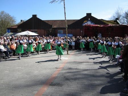 Dancing around the maypole Stock Photo - 24048082