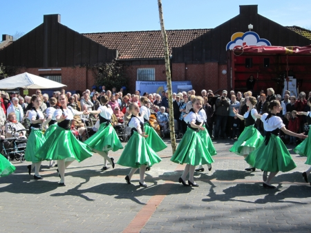 Dancing around the maypole Stock Photo - 24048064