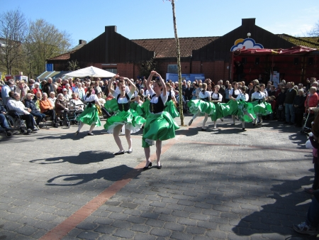 Dancing around the maypole Stock Photo - 24048067
