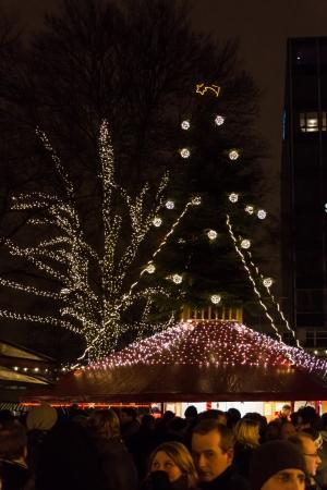 The Christmas Market in Kiel