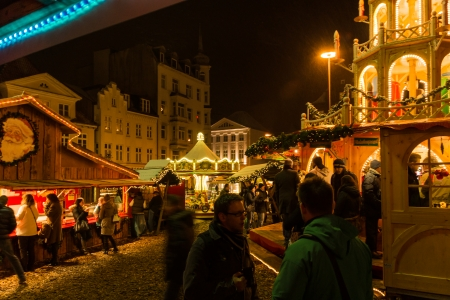 The Christmas Market at Flensburg