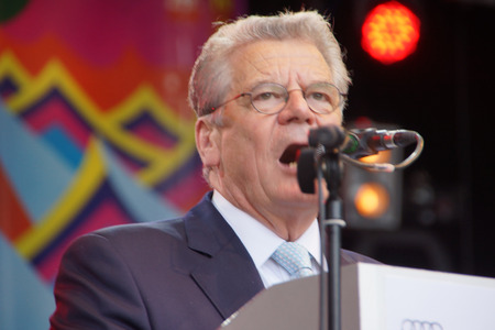Grand Opening Ceremony of the Kieler Woche 2014  with the Prime Minister of Schleswig-Holstein Torsten Albig and President Joachim Gauck