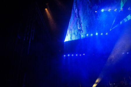 woche: Kiel, Germany  24nd June, 2014  The Laser Light Show in the Kieler Woche Musik Tent