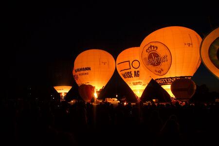 woche: Kiel, Germany  25nd June, 2014  The first Night Glow during the Kieler Woche since 2012  Editorial