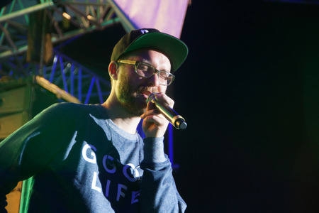 forster: The musican Mark Forster is giving a concert on the NDR Stage during the Kieler Woche 2014 Editorial
