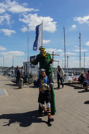 woche: Kiel, Germany  23nd June, 2014  Impressions of the third Day of the Kieler Woche 2014