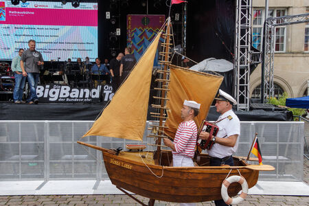 woche: Kiel, Germany  29nd June, 2014  Impressions of the 8th and final Day of the Kieler Woche 2014