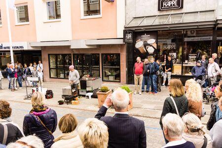 woche: Kiel, Germany - June 19th 2016: Impressions of the second Day of the Kieler Woche 2016