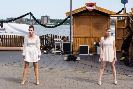 woche: Kiel, Germany - June 23rd 2016:  Impressions of the sixth Day of the Kieler Woche 2016