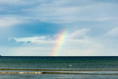somewhere: Somewhere over the Rainbow Stock Photo