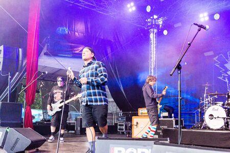 Kiel, Germany - June 24th 2019: The Band