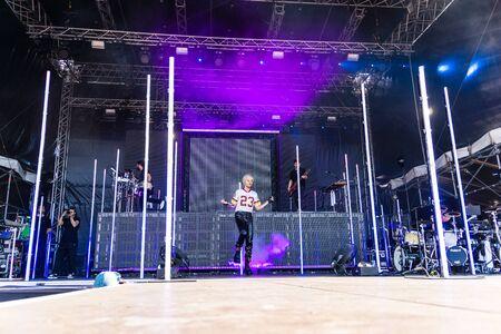 Kiel, Germany - June 28tht 2019:  The Band