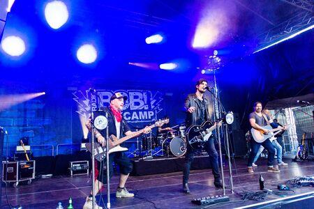 Kiel, Germany - June 28tht 2019: The Berlin Band