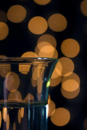 Shot Glass Bokeh Stock Photo
