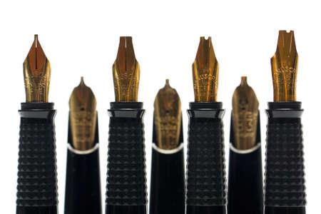 Calligraphy pen nibs