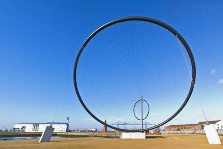 anish: Temenos is the first of 5 public art instalations that will form the worlds largest art installation project in Middlesborough, Teeside UK.