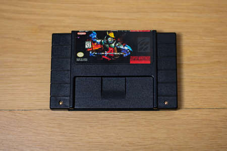 Killer Instinct For the Super Nintendo Entertainment System, a Popular Retro Video Game