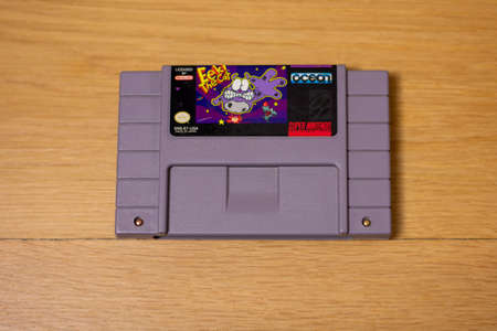 Eek! The Cat  For the Super Nintendo Entertainment System, a Popular Retro Video Game