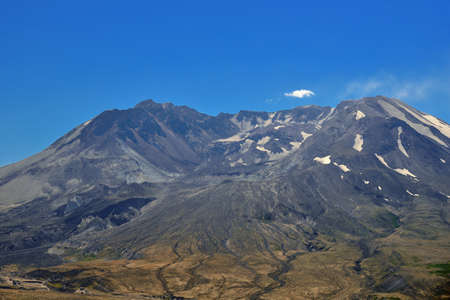 Mount St Helens Crater, Washington state photo