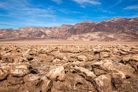 np: Death Valley NP, Devils Golf Course , USA