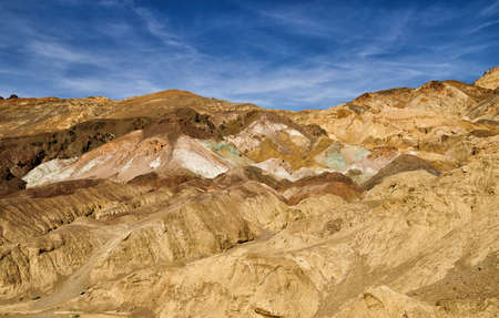 death valley: Artistes palette in Death Valley National Park, California Stock Photo
