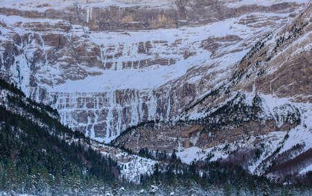 prodigious: Cirque de Gavarnie prodigious vertical wall, Pyrenees, France