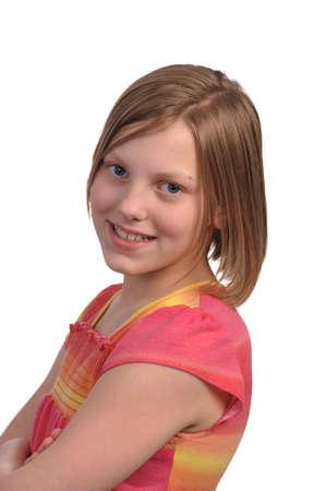 Foto de una ni�a adolescente de pre bastante joven Foto de archivo - 4704184