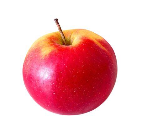 Rijpe rode appels geïsoleerd op een witte achtergrond