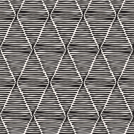 Vector decorative seamless pattern. Abstract stylish background