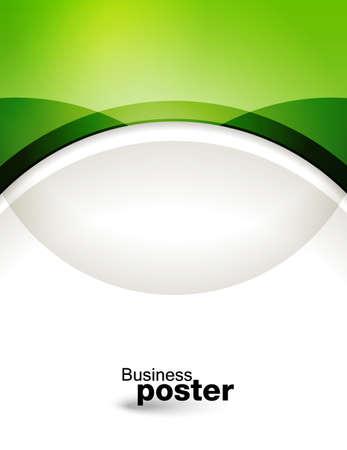 Präsentation des Geschäfts Plakat. Flyer Design-Inhalte Hintergrund. Design-Layout-Vorlage