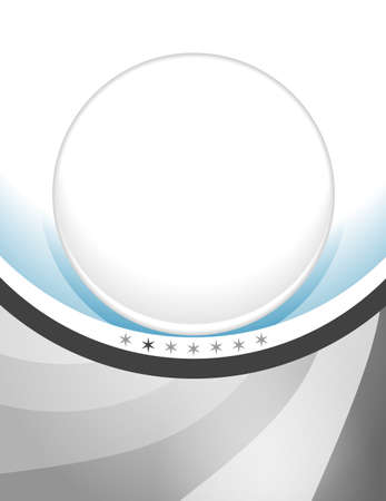 Abstract elegant background with large buttons for inserting a picture Vector