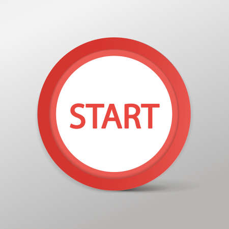 proceed: Red button Start web icon