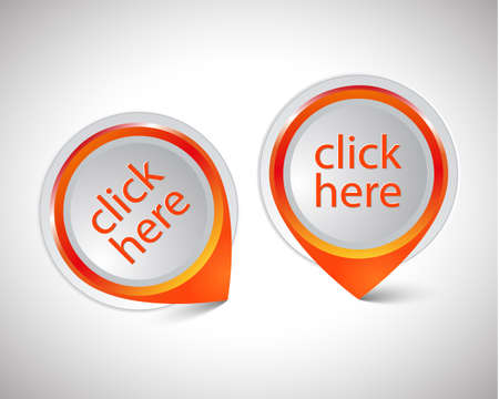 pointer Click here pointer Vector
