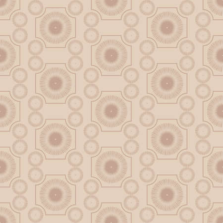 bedclothes: Decorative retro seamless pattern,  repeating wallpaper