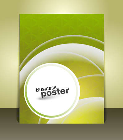 Stylish presentation of business poster. Flyer design content. Design layout template  Vector
