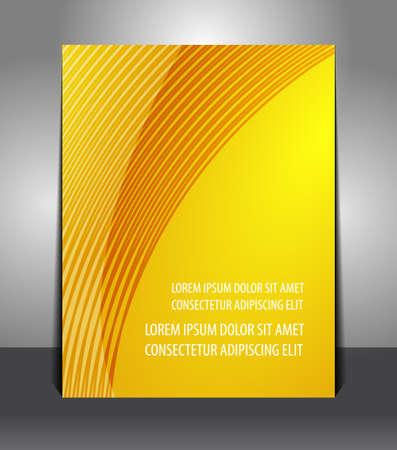 Flyer graphic design elegant of business background Vector