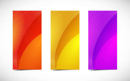 Abstract professional and designer cards. Variety of uses  Vector