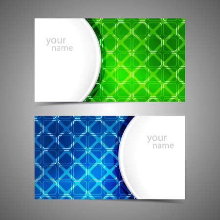 Collection vector of modern business card templates