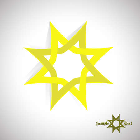 magick: Art icon Star. As sign, symbol. Technology abstract corporate sign.