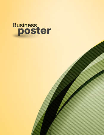 Brochure presentation of business poster. Flyer design content background.   Vector