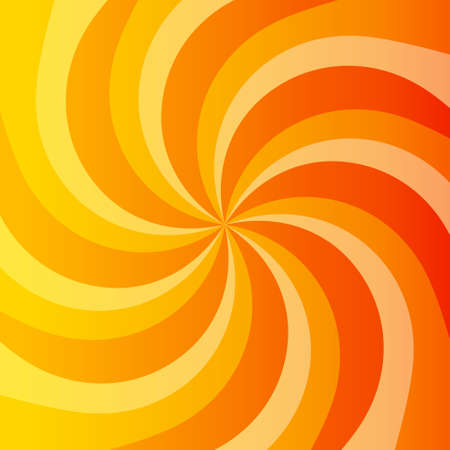 Abstract orange power background with whirlpool. Place for your text.  Stock Vector - 27443990