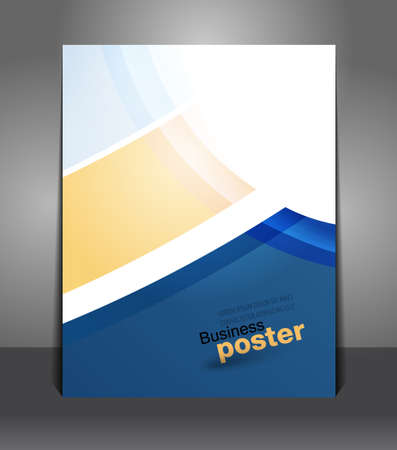 Presentation of business poster. Flyer design content background. Design layout template
